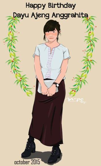 Follow my artwork account on instagram @nindypolin_nipo #popart #cartoon #nipodesignindonesia #digitalart #illustration