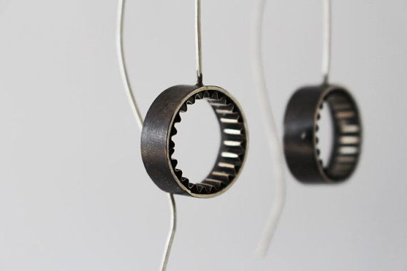 Minimal Earrings Silver Find them on Pinterest