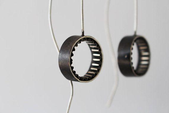 Minimal Earrings Silver Find them on Pinterest