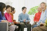 elder care siblings photos