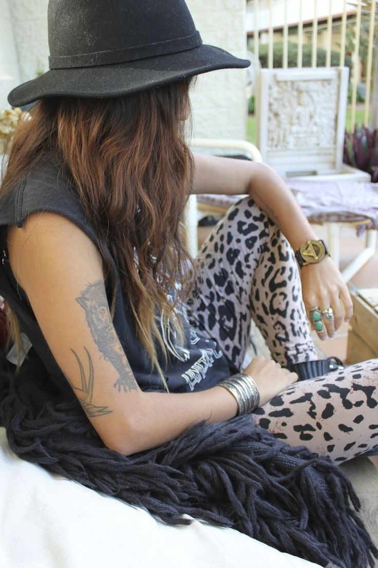 Spell & the Gypsy Collective + Pandeia. Edgy boho rock chic style.