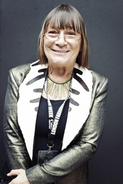Hilary Alexander- Recently retired Daily Telegraph Fashion Director- Fashion Journalist