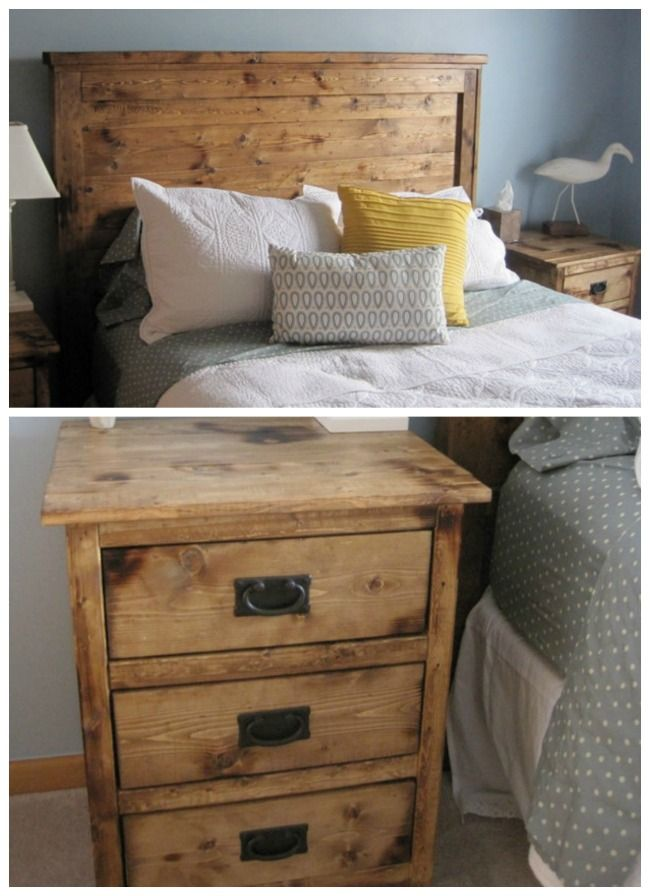diy bedroom furniture easy to build headboard | Best made ...