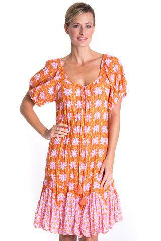 San Lucas Dress in Chilli