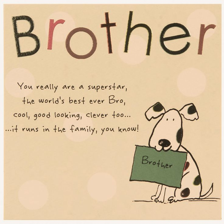 I Love You More Than Quotes: 17 Best Brother Birthday Quotes On Pinterest