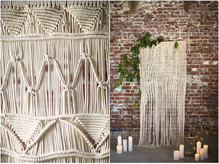 We love a pretty macrame backdrop. Visit our blog to find out more about where to find these in South Africa