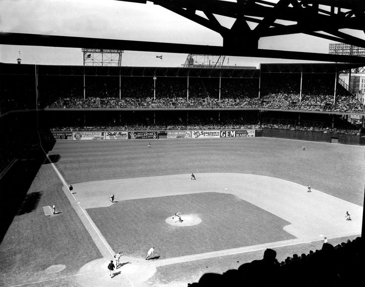 These incredible photos show us what baseball stadiums looked like when baseball played its first all star game