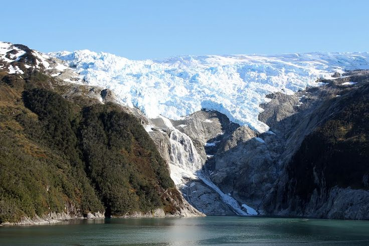 Ventisquero Romanche. Parque Nacional Alberto Agostini. Chile. XII Región de Magallanes y Ant-ártica chilena.