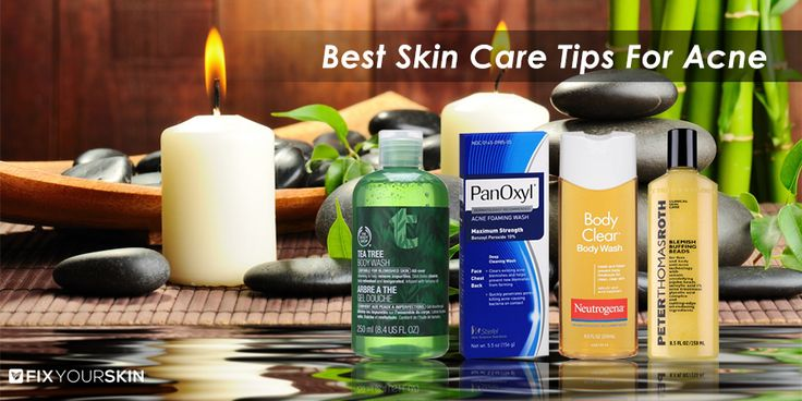 Best Skin Care Tips For Acne Prone Skin