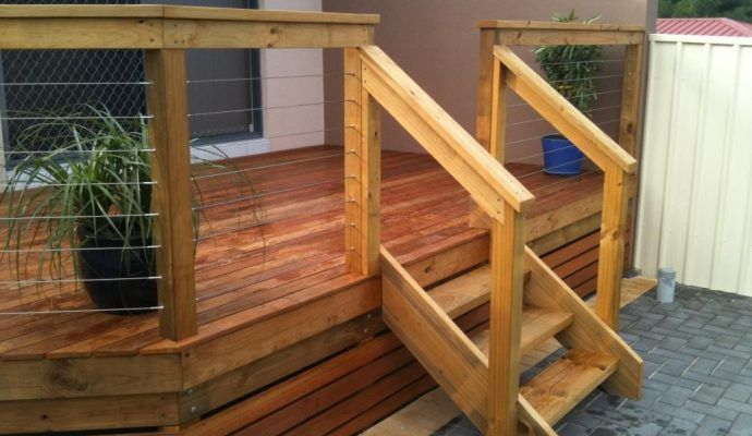 Best Pin By Joann Lindstrom On Front Steps Deck Stair Railing 400 x 300