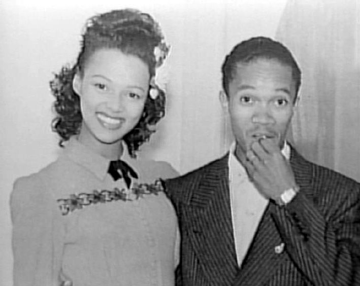 Dorothy Dandridge and husband Harold Nicholas