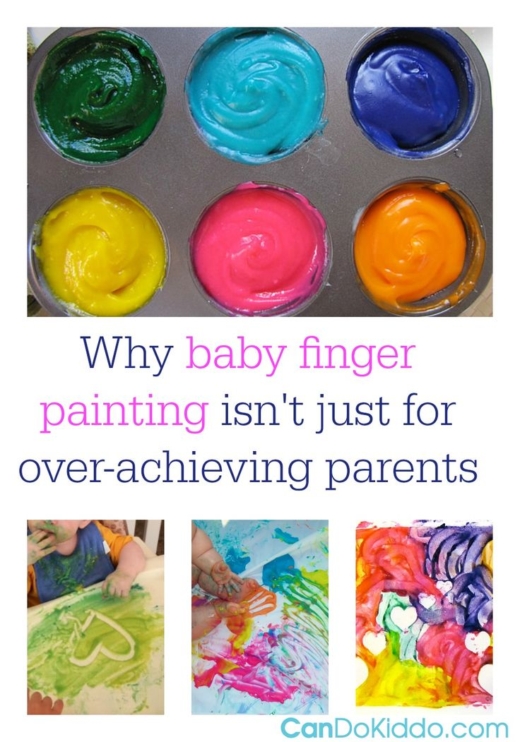 A pediatric OT explains the importance of messy play for babies and offers tips and recipes for baby-safe painting. CanDo Kiddo