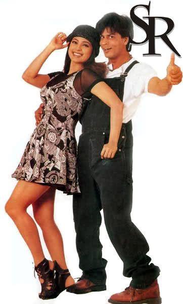 Shah Rukh Khan and Juhi Chawla - Duplicate (1998)