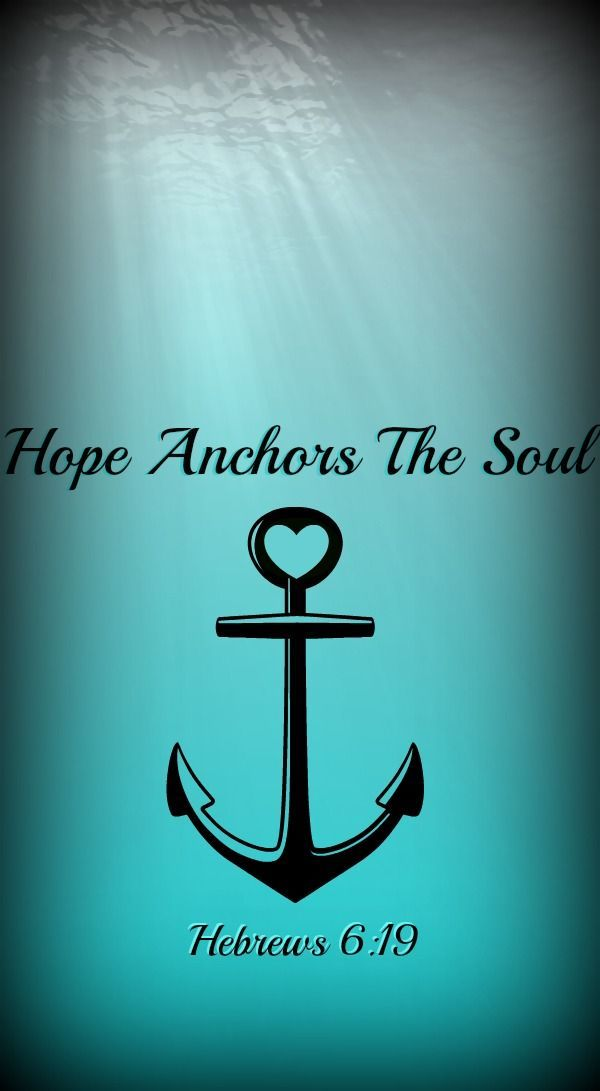 """We have this as a sure and steadfast anchor of the soul, a hope that enters into the inner place behind the curtain, where Jesus has gone as a forerunner on our behalf, having become a high priest forever after the order of Melchizedek."" ‭‭Hebrews‬ ‭6:19-20‬ ‭ESV‬‬"