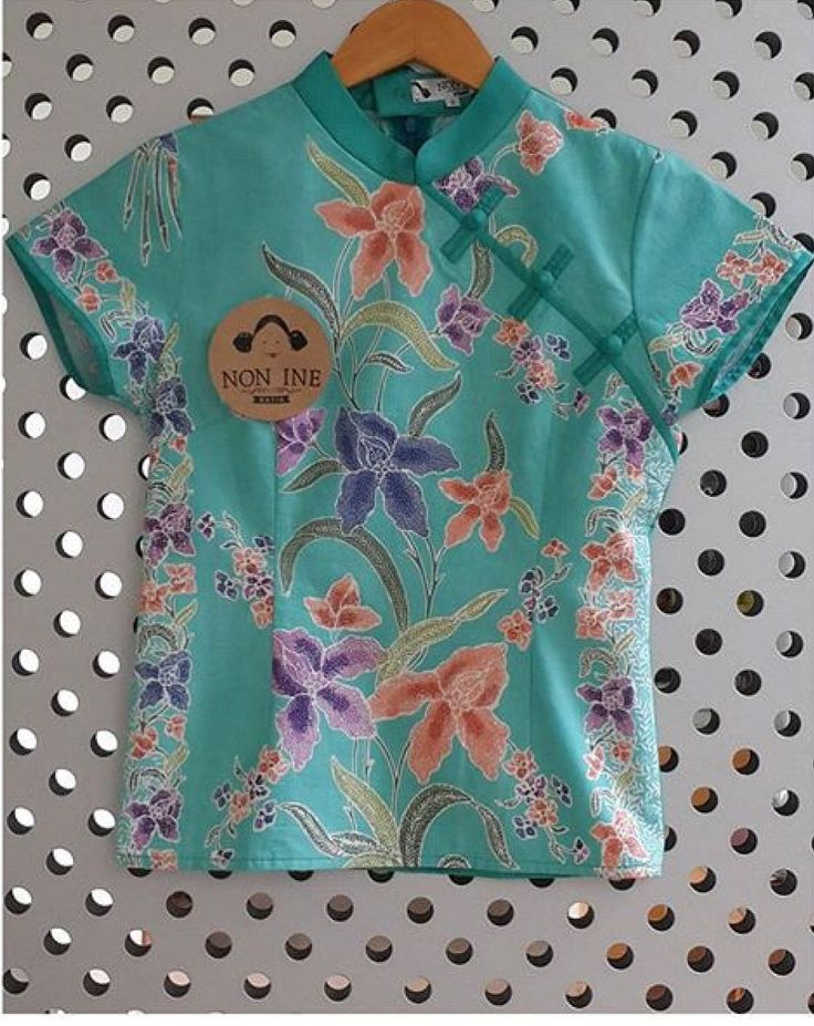 Batik Pekalongan blouse