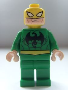 Iron Fist LEGO Super Heroes Minifigure