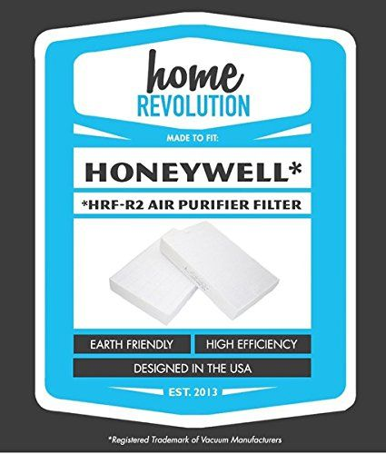 Honeywell Part # HRF-R2. Fits HPA-090, HPA-100, HPA200 and HPA300 Series. Comparable Air Purifier Filters; Home Revolution Brand Quality…