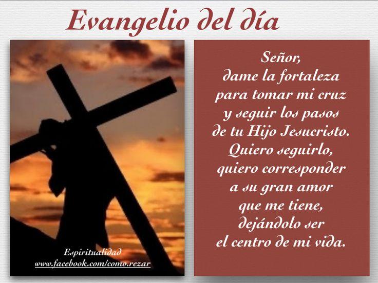 Señor dame fuerzas para llevar mi cruz