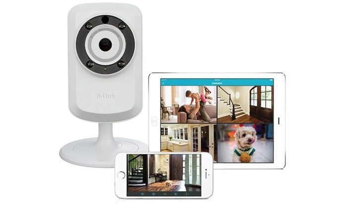 1Sale: Online Coupon Codes, Daily Deals, Black Friday Deals, Coupons, Promo Codes, Discounts | D-Link Day and Night Wi-Fi Security Camera with Sound and Motion Detector (Refurbished)