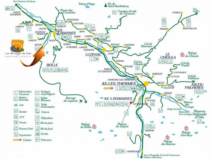 Ski en Ariège Pyrénées - Les Granges de Léo - Location de gîtes chalets en Ariège tout prêt du plateau de Beille - Vallées d'Ax