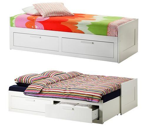 Nuevos divanes ikea de forja de madera con cama nido Divanes de forja baratos