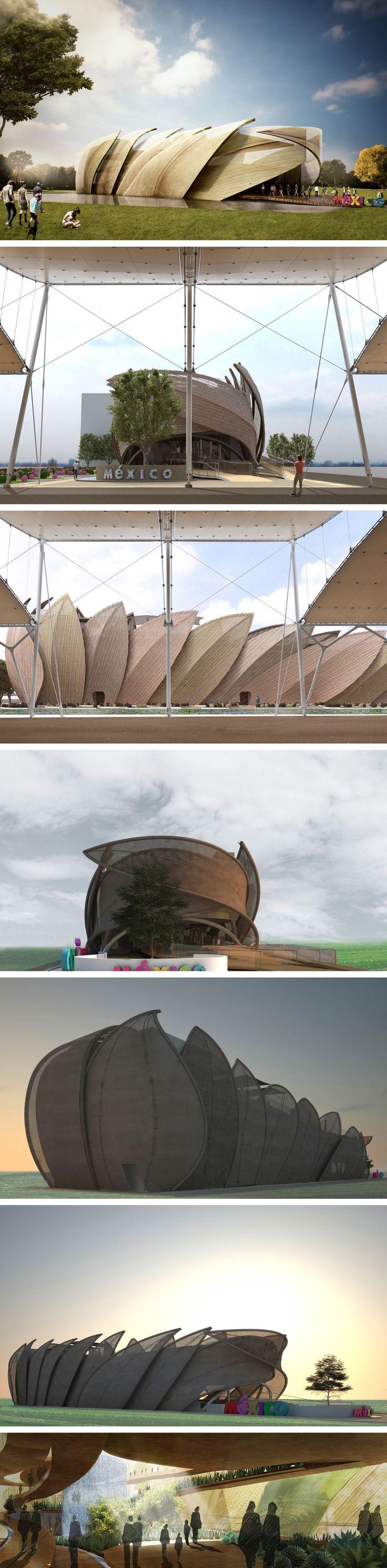 Mexico Pavilion at @Expo2015Milano , 2015 - Loguer Design #expo2015 #mexico #pavilion #architecture