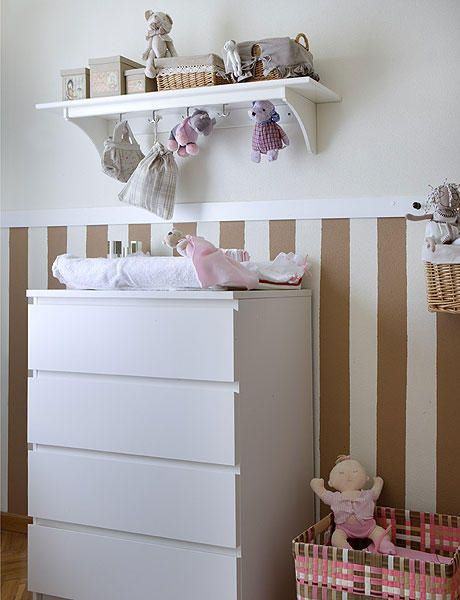 23 best habitaci n bebe images on pinterest baby rooms - Comodas bebe ikea ...