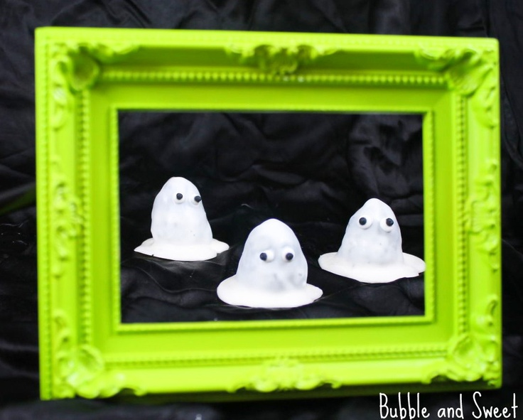 Bubble and Sweet: Army of Ghosts super easy cake pops