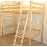 Amazon.co.uk:Customer Reviews: Loft Bunk Bed - 3ft single wooden high sleeper bunkbed - heavy duty use - CAN BE USED BY ADULTS -