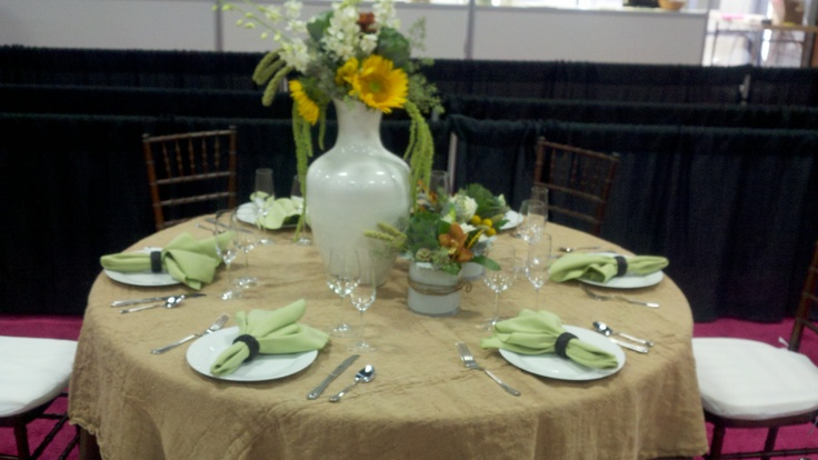 Fall/Rustic/Country Table Setting