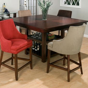 Combining traditional details with modern designs, Jofran has a collection to compliment any home decor. This Carlsbad Butterfly Leaf Counter Height Table belongs to 888 Series - Carlsbad Cherry Collection by Jofran Inc. The classic formulas of color combinations are not valid in Jofran Furniture...