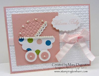 .Shared, Cutest Baby, Baby Buggy, Baby Cards, Cards Baby, Baby Carriage, Carriage Cards, Punch Art, Shower Cards