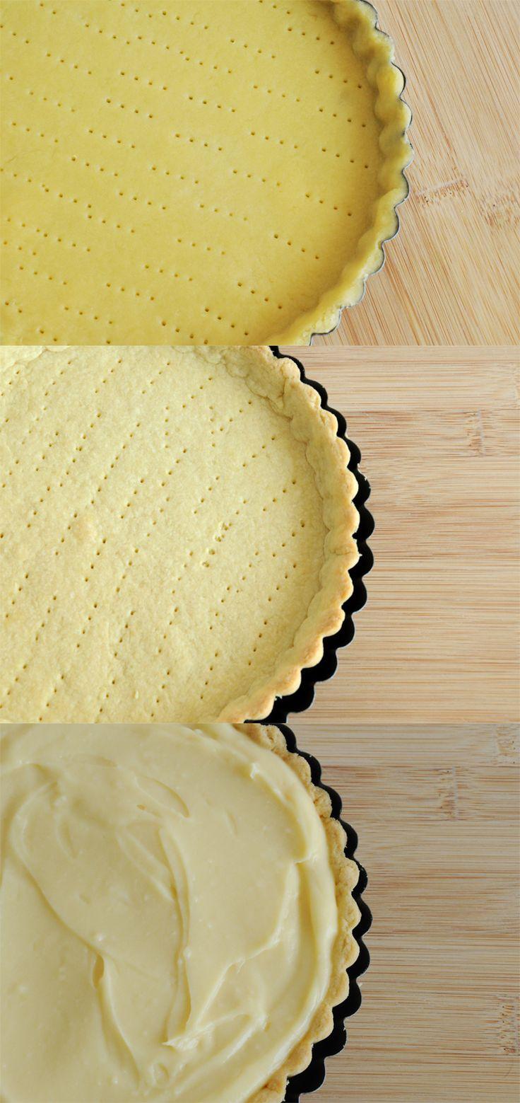 """Ando bem inspirada pelas receitas tradicionais francesas. Testando exaustivamente técnicas e melhorando meus """"skills"""" culinários. Tão inspirada que hoje vou ensinar uma torta de morango muito tradi..."""