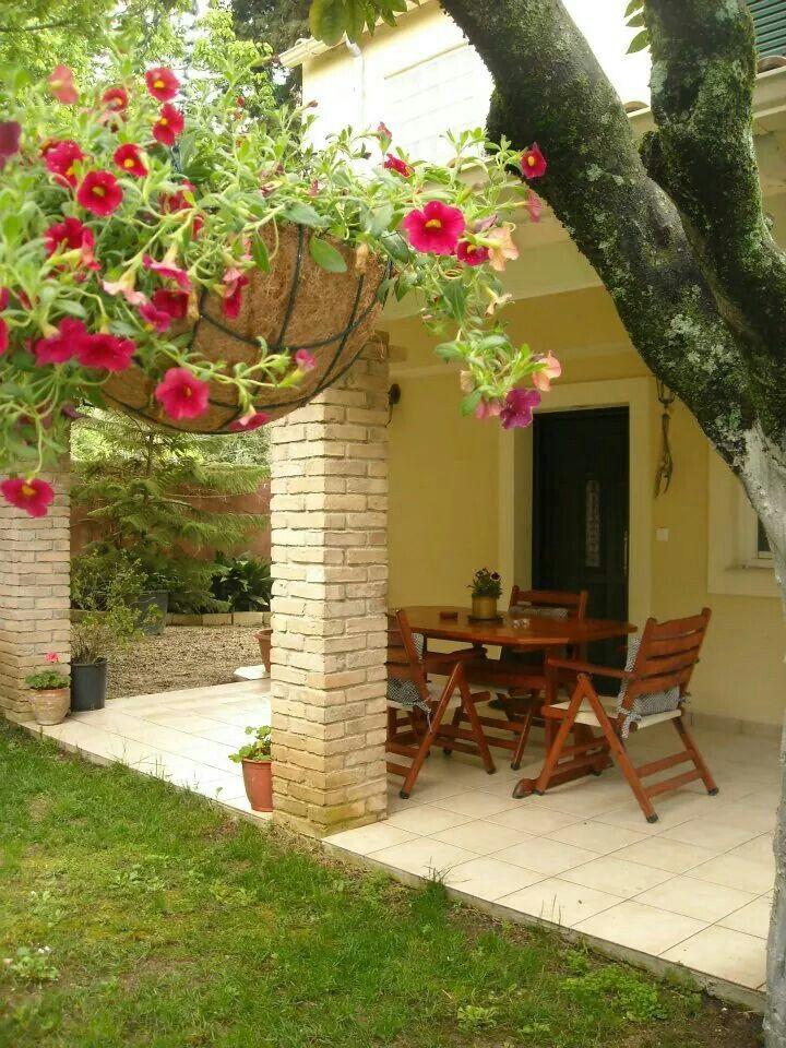 Corfu garden at Kaloudis Studio & Apartments