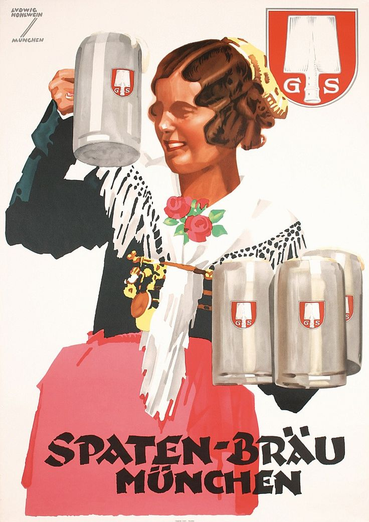 36 Best Images About German Beer Posters On Pinterest
