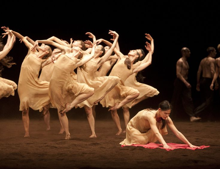 My favorite version of Rite of Spring is by choreographer Pina Bausch.  Brings tears to my eyes every time.  Inspires me to make great dances.