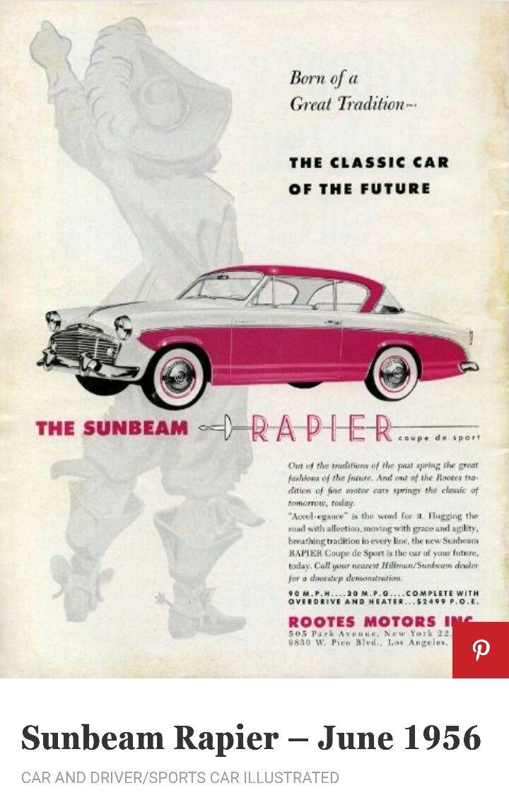 1956 ford country squire smcars net car blueprints forum - 1956 Sunbeam Rapier