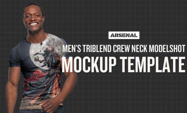 Download African American Model Mockup African American Models Shirt Mockup Photoshop Mockup