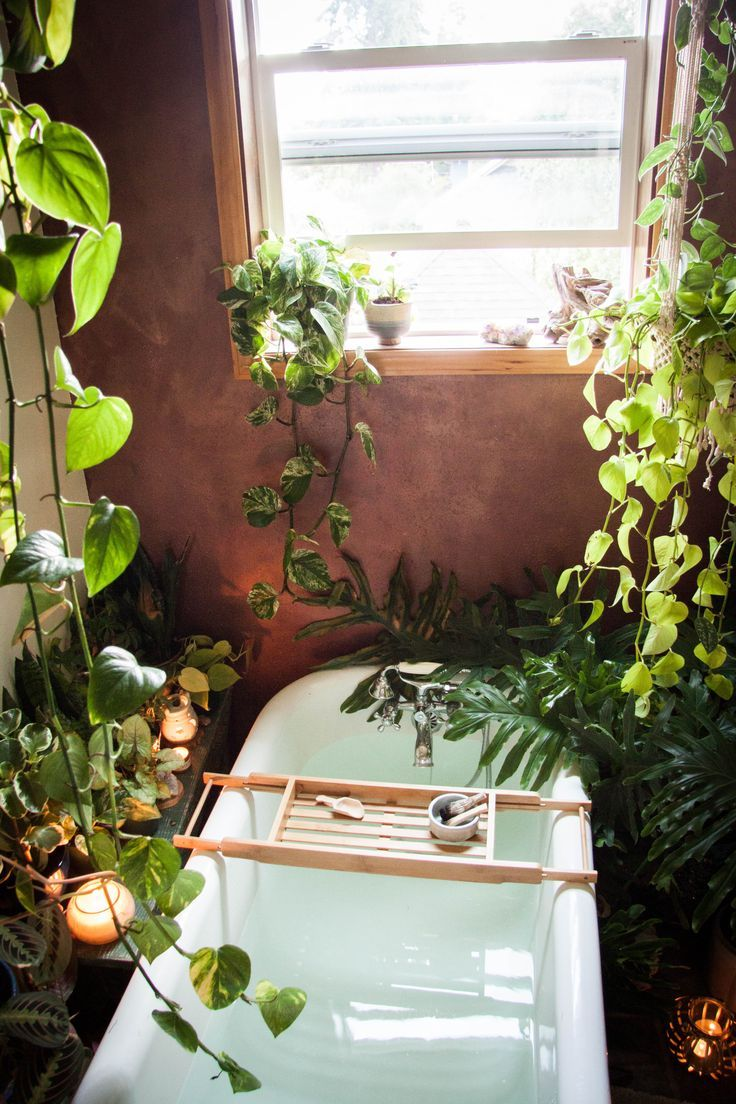 Your Urban Jungle Escape Awaits Jungle Bathroom Rustic