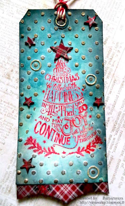 yaya scrap & more: CHRISTMAS IN BLUE!