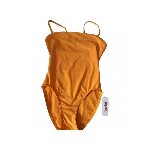 Pre-owned Eres Swimwear (€155) ❤ liked on Polyvore featuring swimwear, one-piece swimsuits, one piece, underwear, bikini, lingerie, eres bathing suits, one piece bikini, bikini bathing suits and bikini swim wear