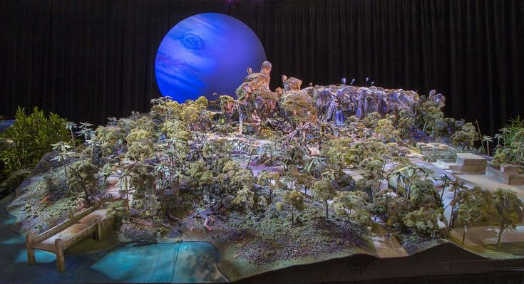 Avatar land model, Disney Epcot