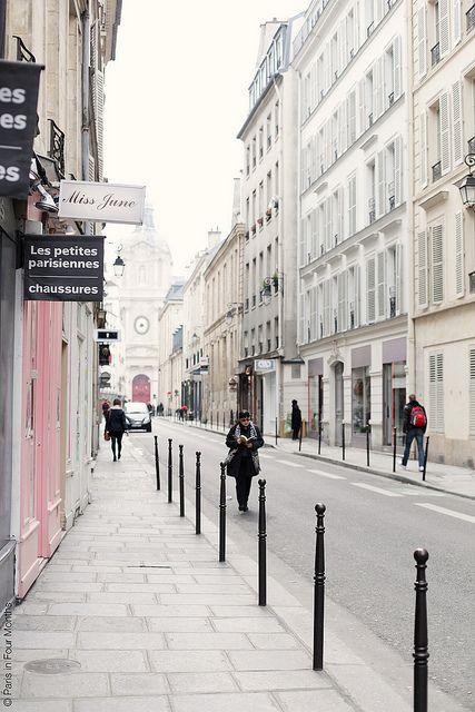 Parisian streets by Paris in Four Months