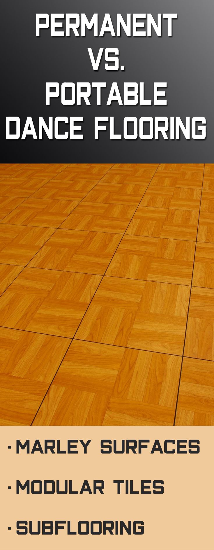 70 best dance flooring images on pinterest if you arent sure if you should buy a permanent or portable dance floor dailygadgetfo Gallery