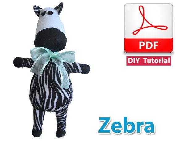 Zebra PDF Tutorial INSTANT DOWNLOAD by vitbich on Etsy, $3.50