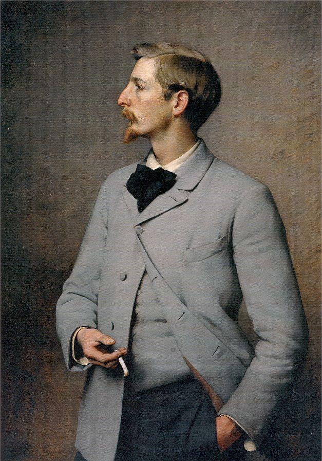 """Paul Wayland Bartlett"" → Charles Sprague Pearce - 1851/1914 - Pintor Americano."
