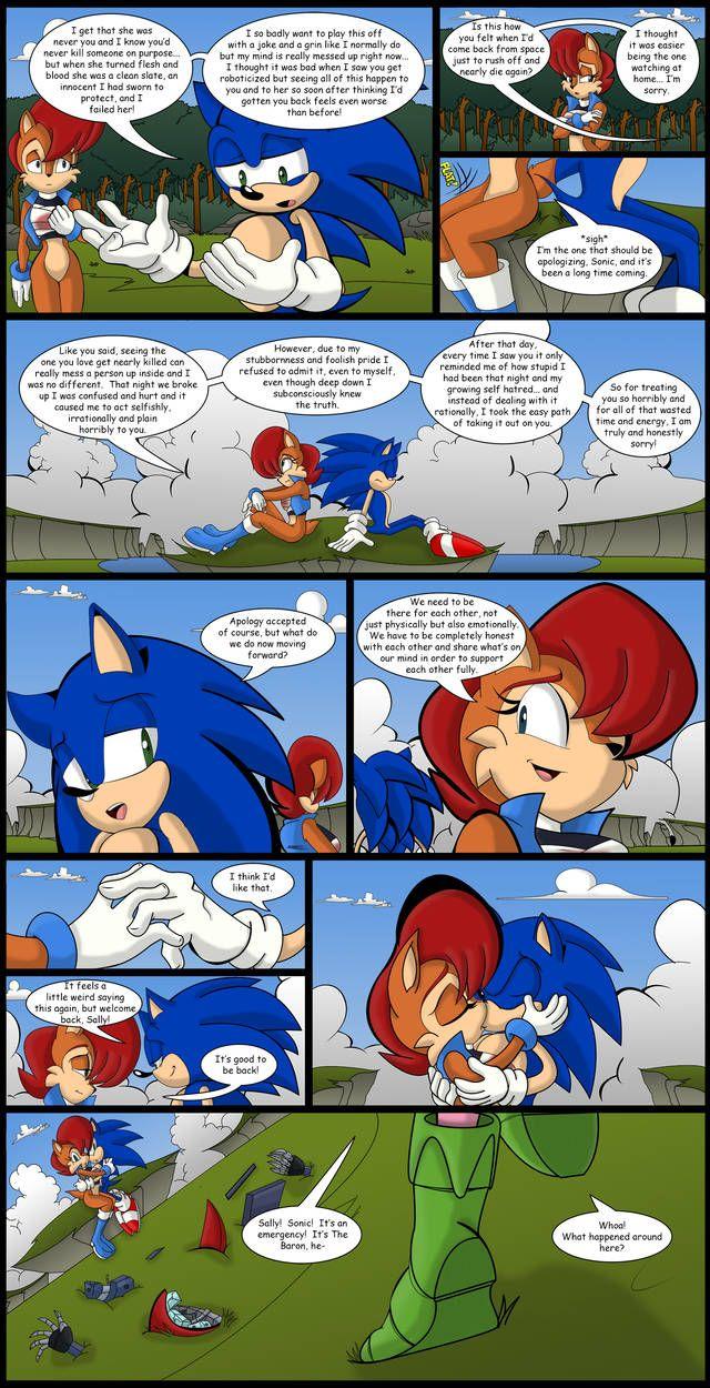 Pin by Harey Zuniga on Kiss   Sonic art, Sonic the hedgehog, Sally acorn