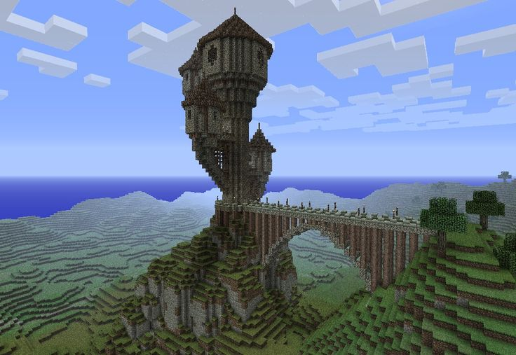 Medieval Wizards Tower Minecraft Project