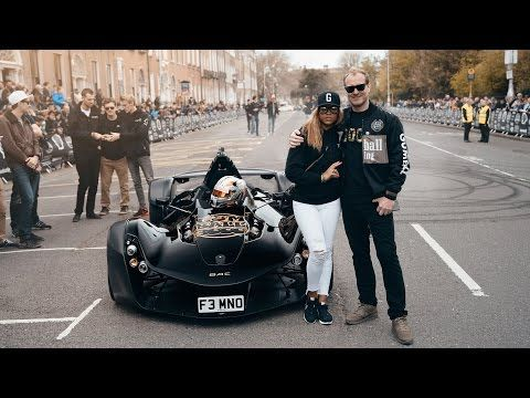 (214) The NEW Team Galag Batmobile | Gumball 3000 2016 - YouTube