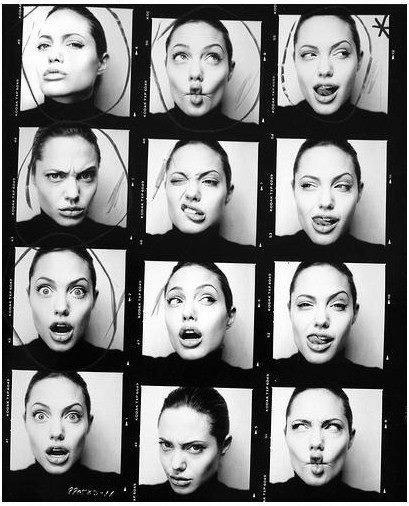The many faces of Mrs. Pitt